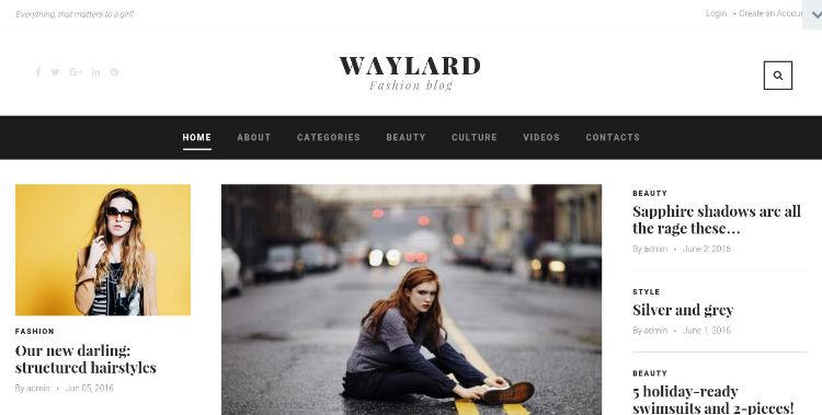 waylard theme