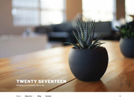WordPress-TwentySeventeen-Theme