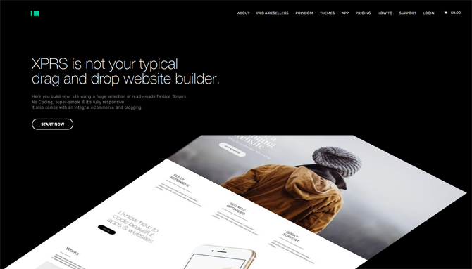 XPRS - Web Design Tools