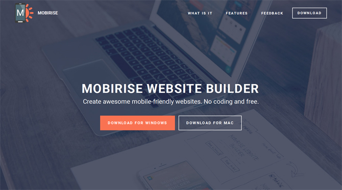 Mobirise - Web Design Tools