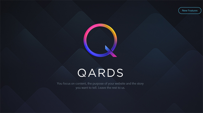 Qards - Web Design Tools