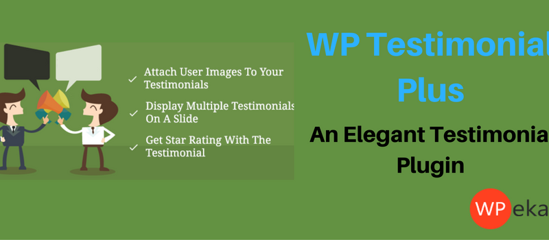 WP Testimonials Plus | WordPress Testimonial Plugin