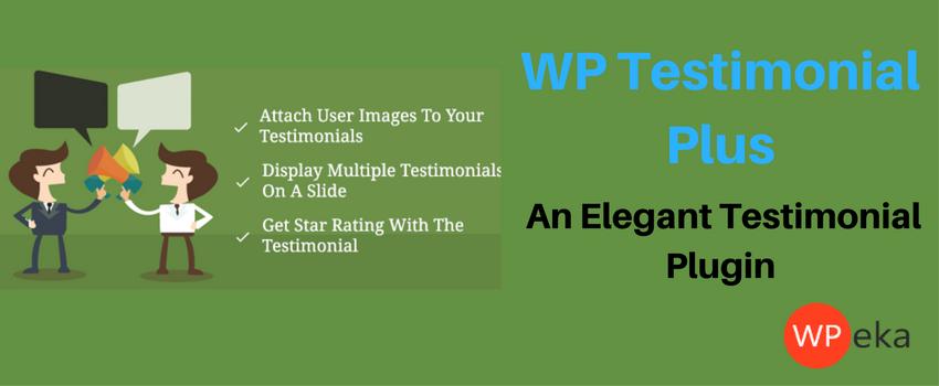 WP Testimonials Plus | WordPress Testimonial Plugin