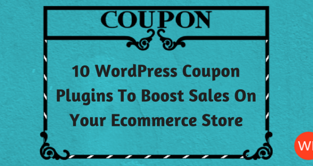 10 wordpress coupon plugins to boost sales on your ecommerce store wordpress coupon plugin fandeluxe Images