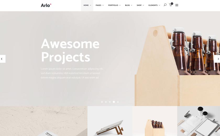 Landing Page WordPress Themes | Arlo