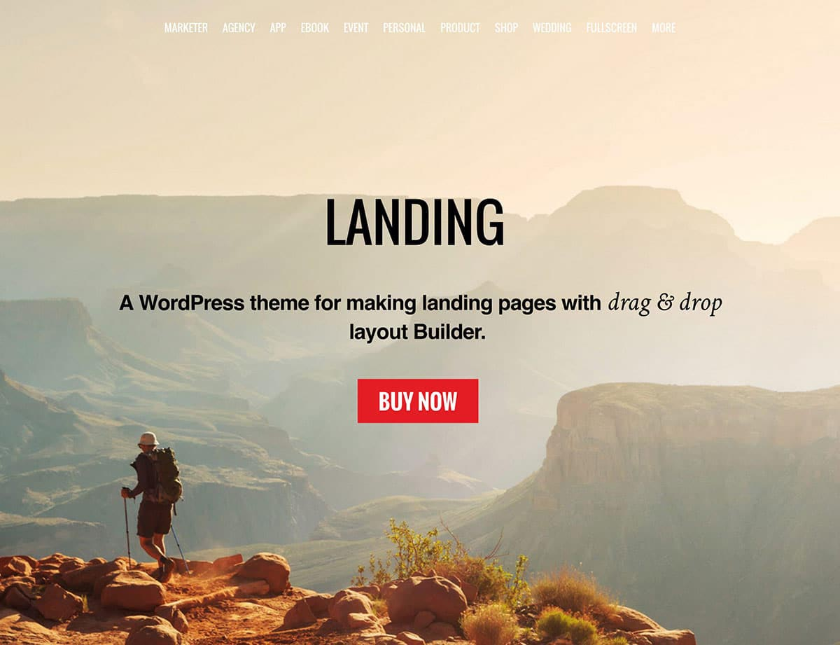 Landing Page WordPress Themes | Landing