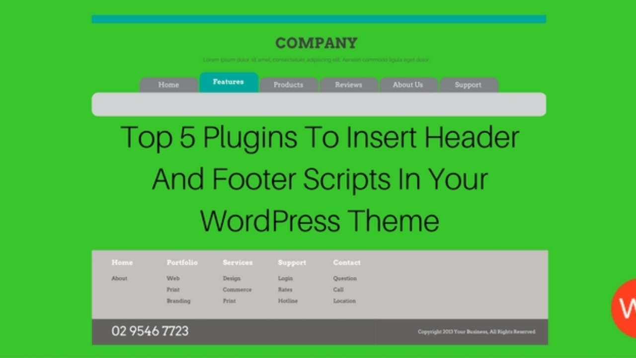 Top 5 Plugins To Insert Header And Footer Scripts In Your