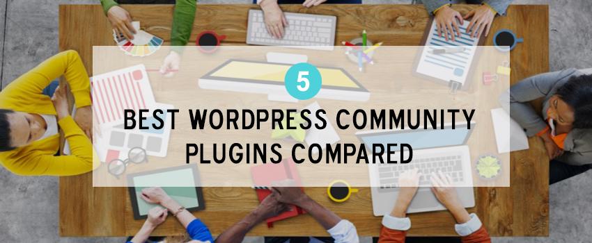 5 Best WordPress Community Plugins Compared