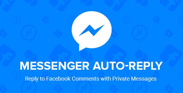 facebook messenger autoreply