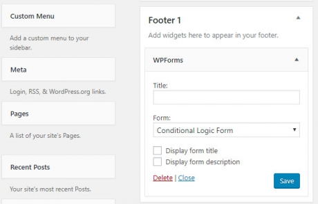 wpforms wordpress contact form