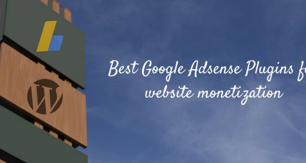 Best Google Adsense Plugins for website monetization