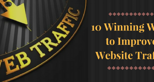 10 Winning Ways to Improve Website Traffic