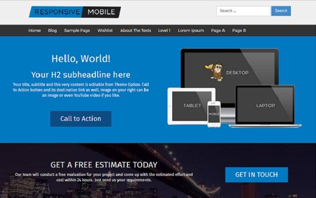 Responive II WordPress Theme