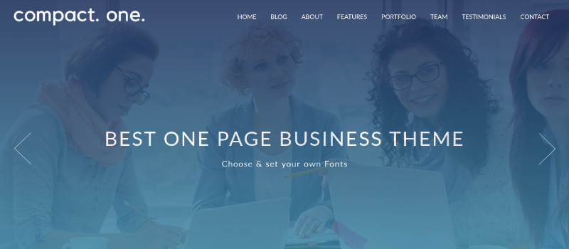 Compact One WordPress Theme