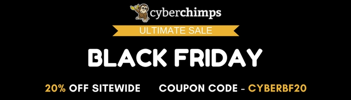 BLACK FRIDAY - CYBERCHIMPS