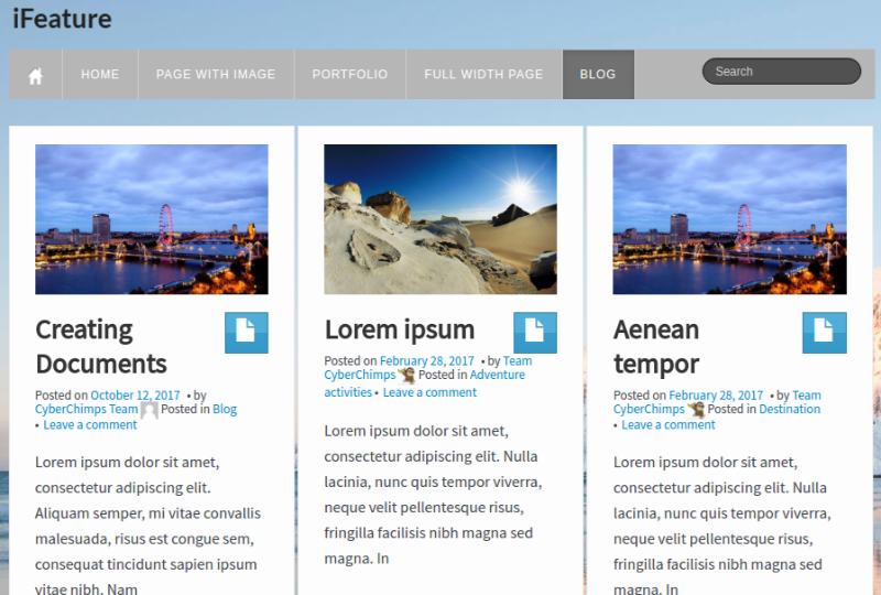 iFeature WP Theme