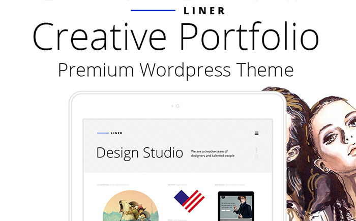 Liner - Creative Clean Portfolio WordPress Theme