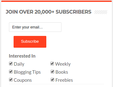 Encourage Users to subscribe