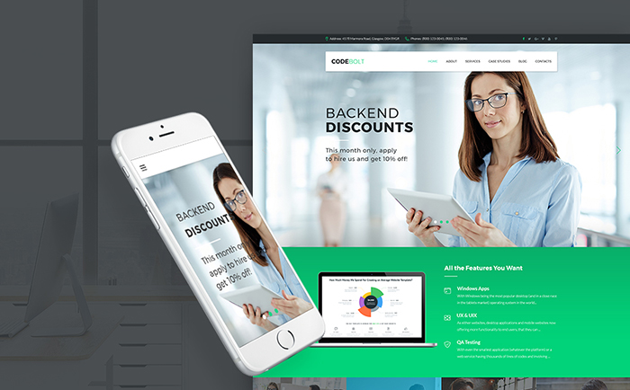 Software Company WP Theme