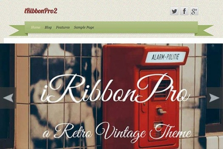 Premium Retro Vintage WordPress Theme Giveaway