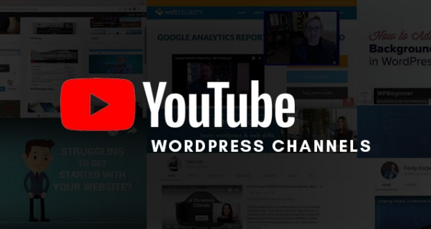 YouTube Channels for WordPress