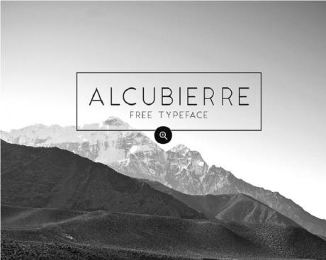 alcubierre-free-typeface-font