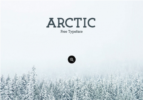 arctic-free-typeface-font