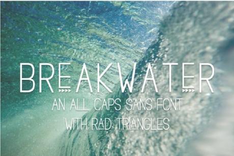 breakwater-free-sans-font