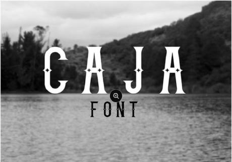 caja-free-vintage-font