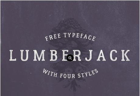 lumberjack-free-vintage-typeface-font