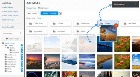 WP media folder WordPress SEO Tools