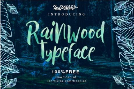 rainwood-free-typeface-font