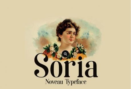 soria-free-noveau-font