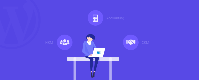 Manage your business with wordpress accounting system
