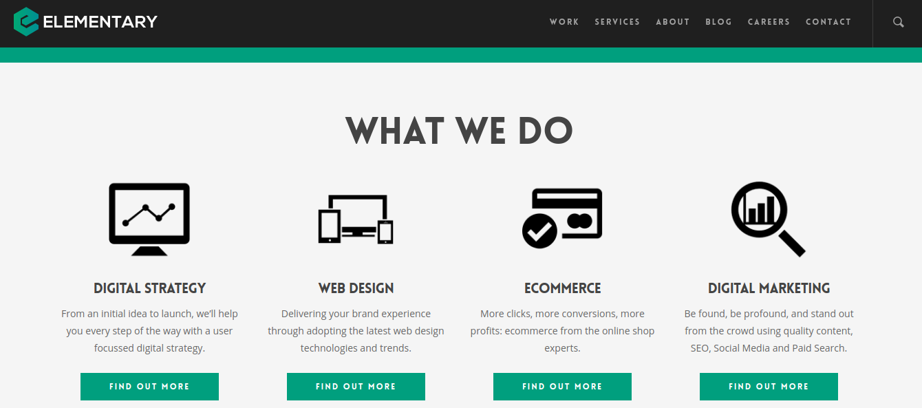 elementarydigital UK based wordpress agency