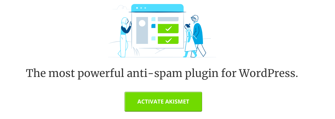 Akismet WordPress security plugins