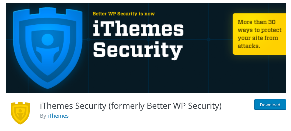 Itheme security WordPress security plugins