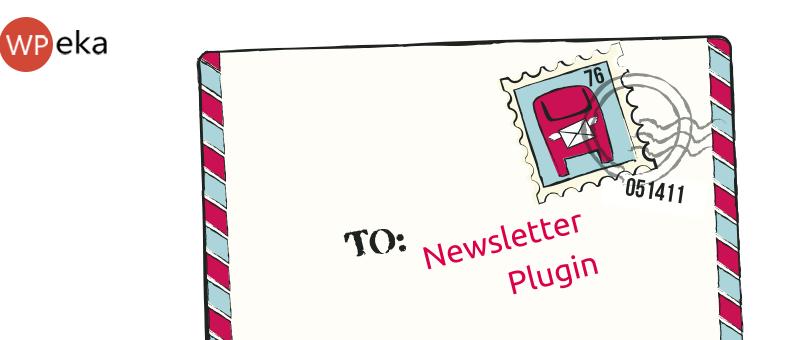 WordPress plugin for newsletter
