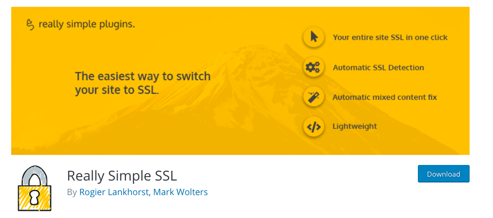 SSL plugin for WordPress