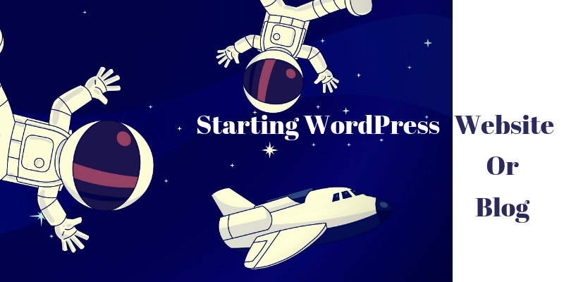 Start WordPress website