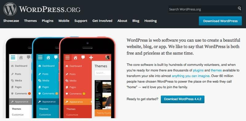 Starting WordPress Website