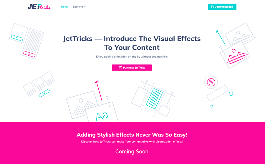 JetTricks - Visual Effects Addon for Elementor WordPress Plugin