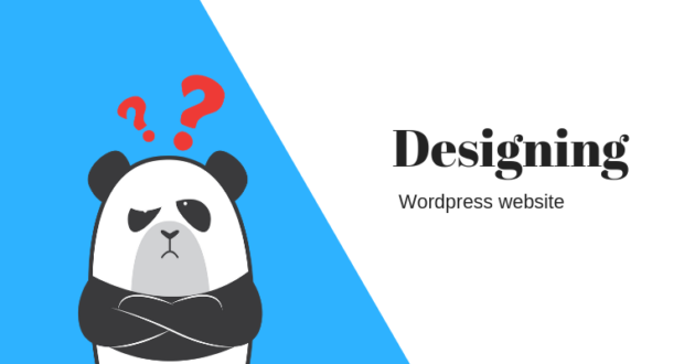 designing Wordpress website