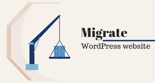 migrate WordPress website