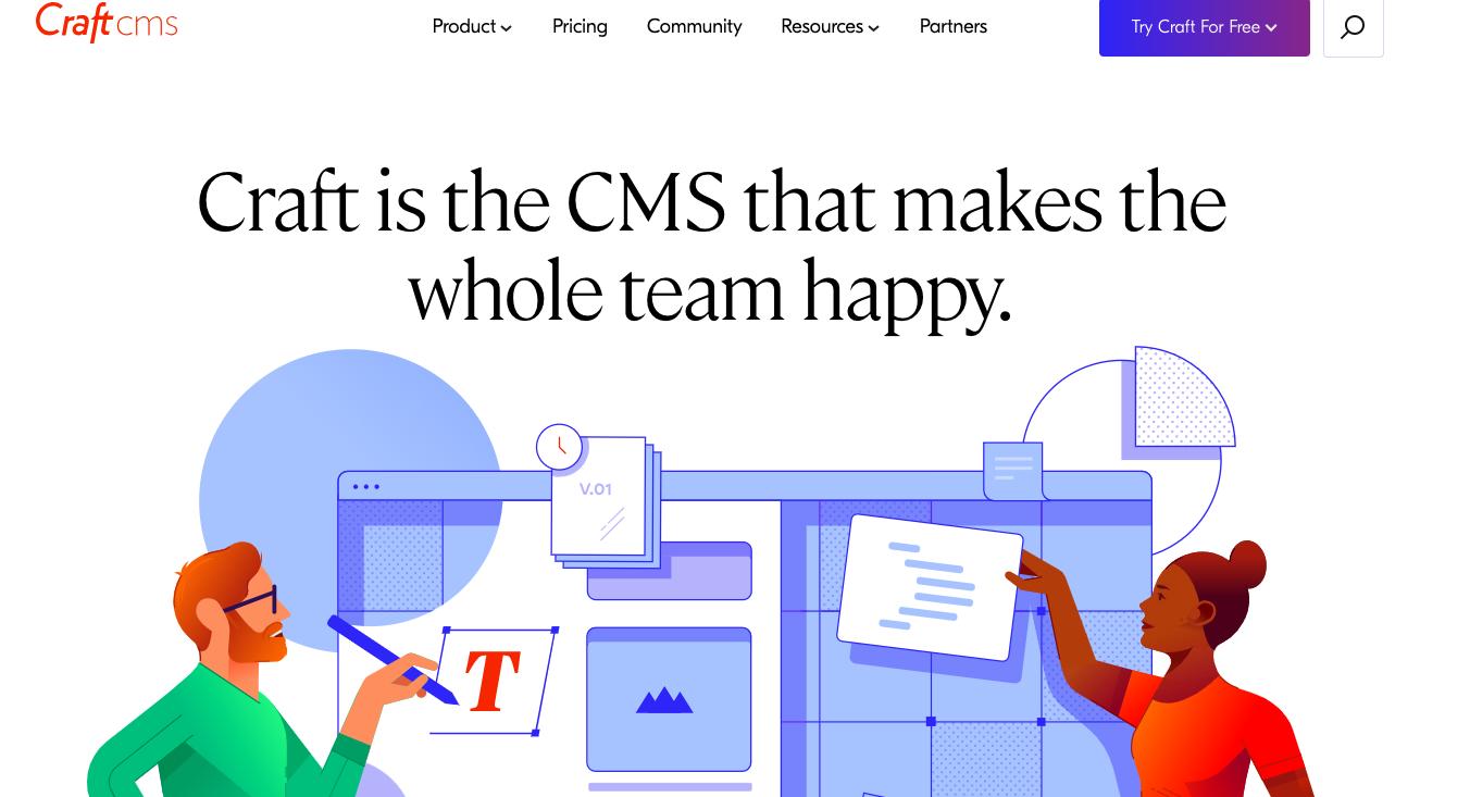 Craft Cms WordPress alternative