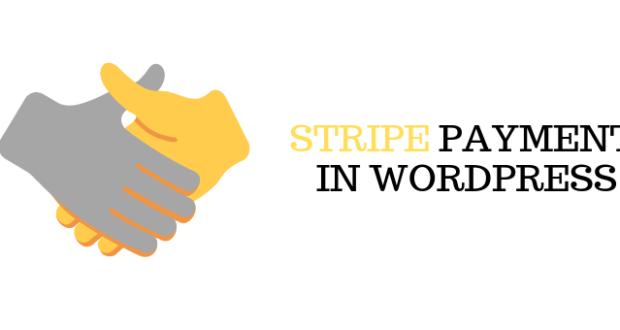 Stripe in Wordpress