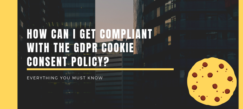 How can a website comply with GDPR cookie policy
