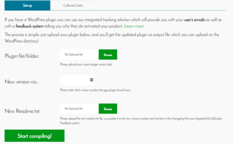 sellcode feedback tool integration