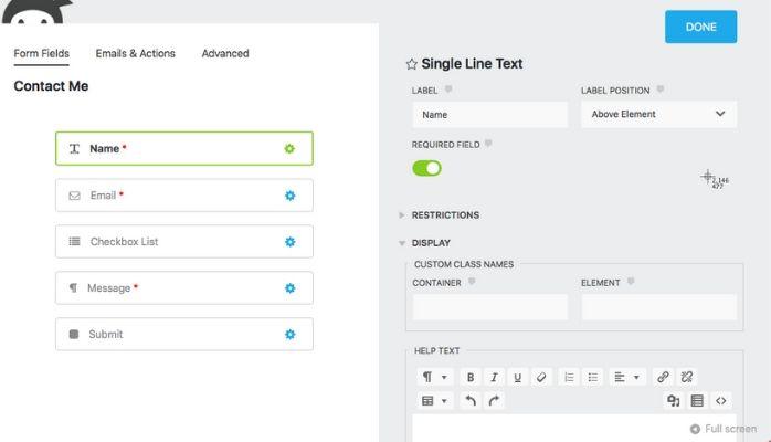 Ninja Forms | WordPress Survey Plugins | Wpeka