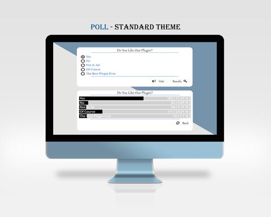 Responsive Polls | WordPress Survey Plugins | Wpeka